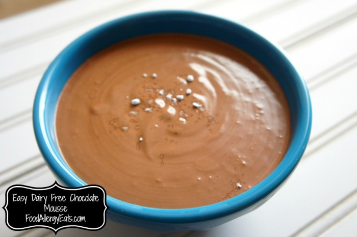Dairy Free Mousse  Dairy Free Chocolate Mousse
