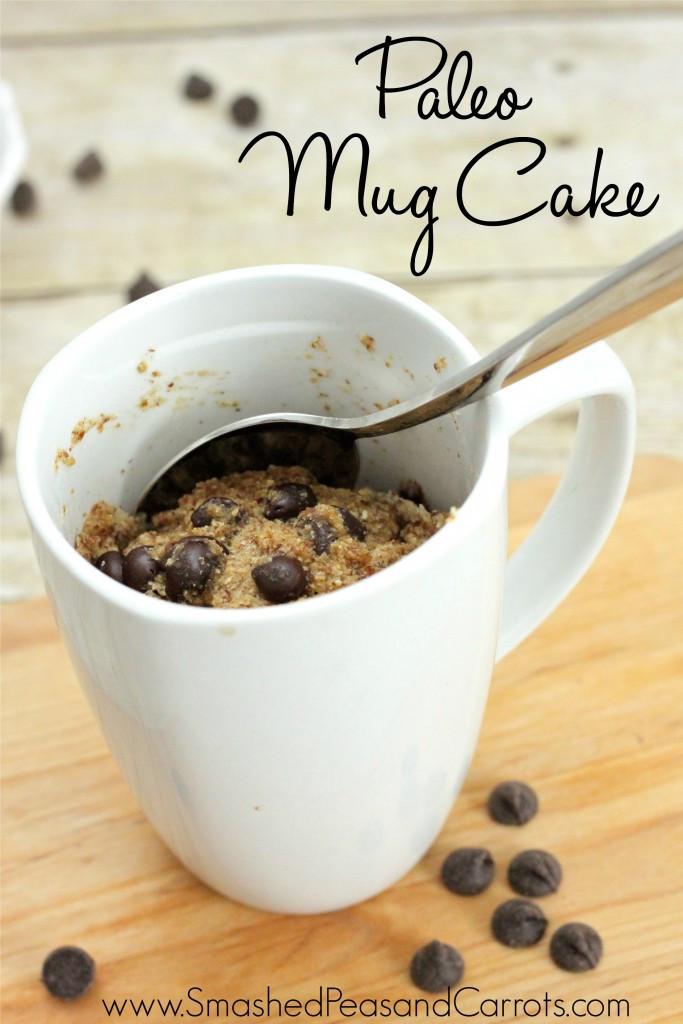 Dairy Free Mug Cake  Paleo Mug Cake Recipe Gluten and Dairy Free Smashed
