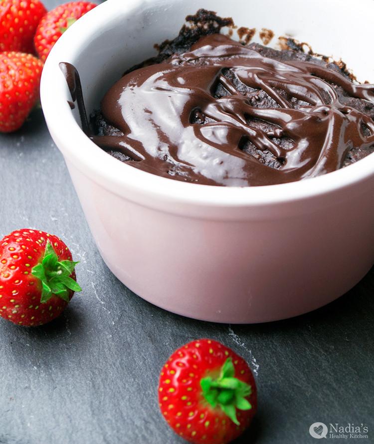 Dairy Free Mug Cake  Vegan Gluten Free Chocolate Mug Cake