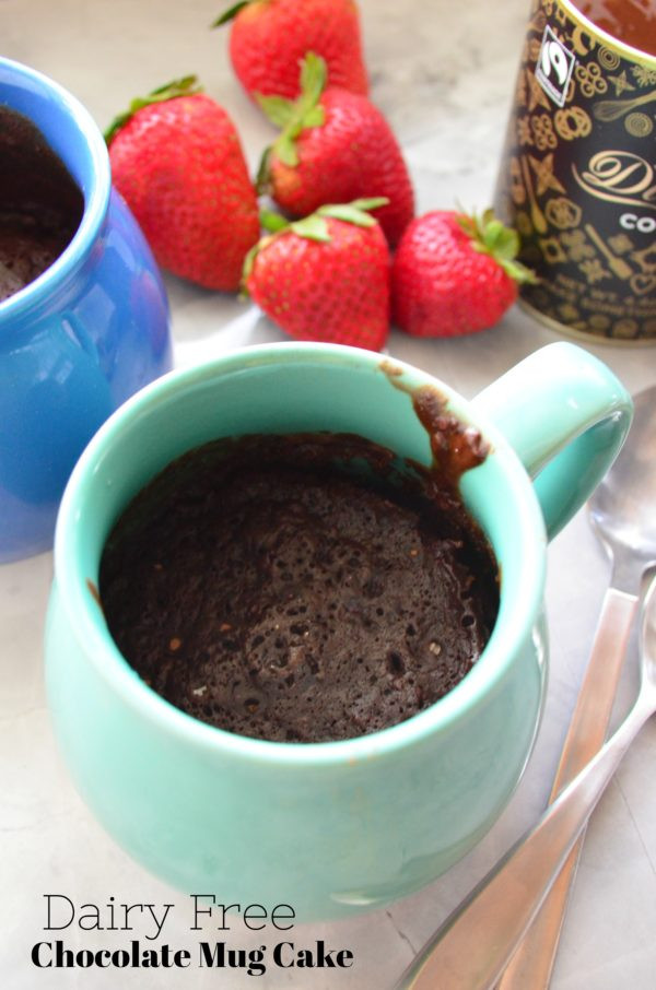 Dairy Free Mug Cake  Dairy Free Chocolate Mug Cake Katie s Cucina