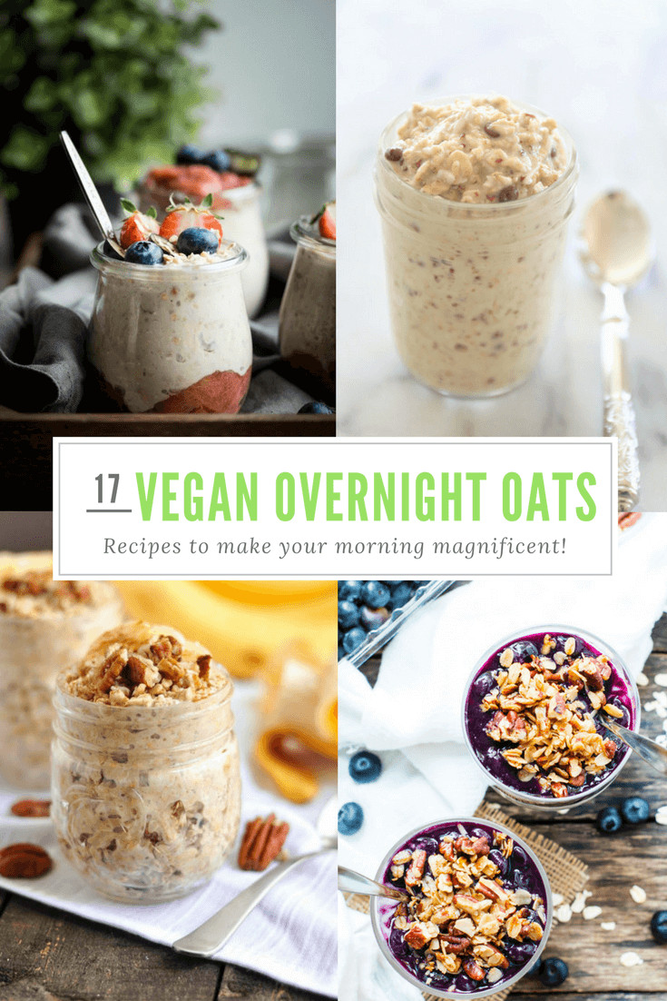 Dairy Free Overnight Oats  17 Vegan Overnight Oats Recipes That Make Mornings Magnificent