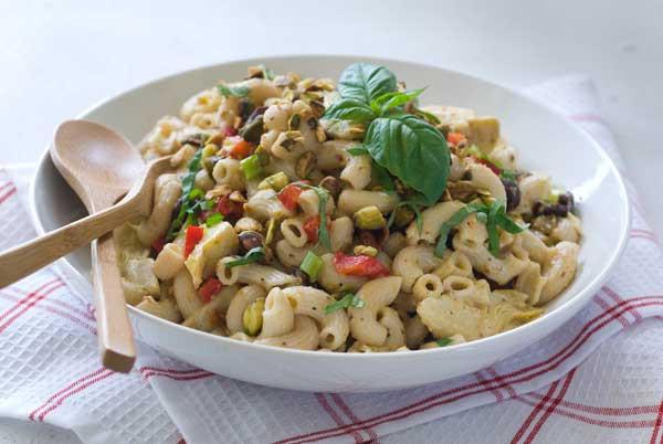 Dairy Free Pasta Salad  Gluten Free Pistachio Pasta Salad Recipe