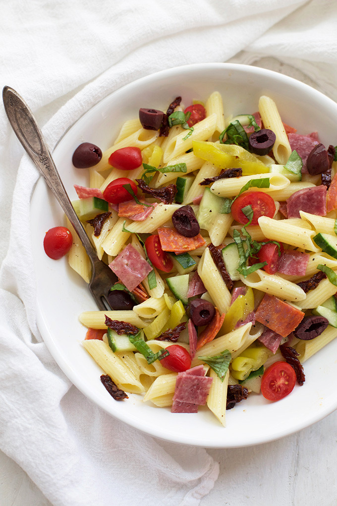 Dairy Free Pasta Salad  Our Favorite Pasta Salad e Lovely Life