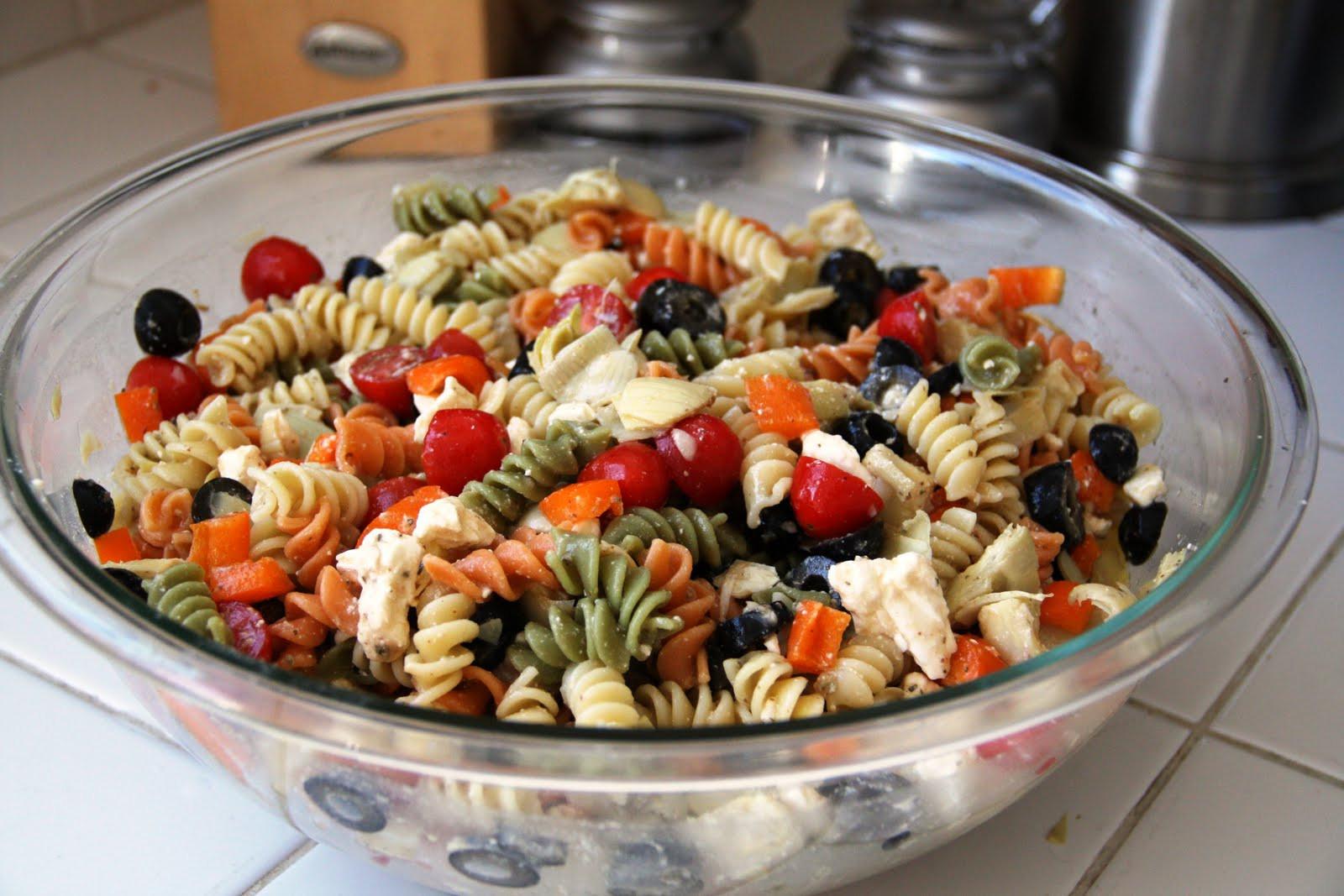 Dairy Free Pasta Salad  Summer Pasta Salad gluten free option vegan option