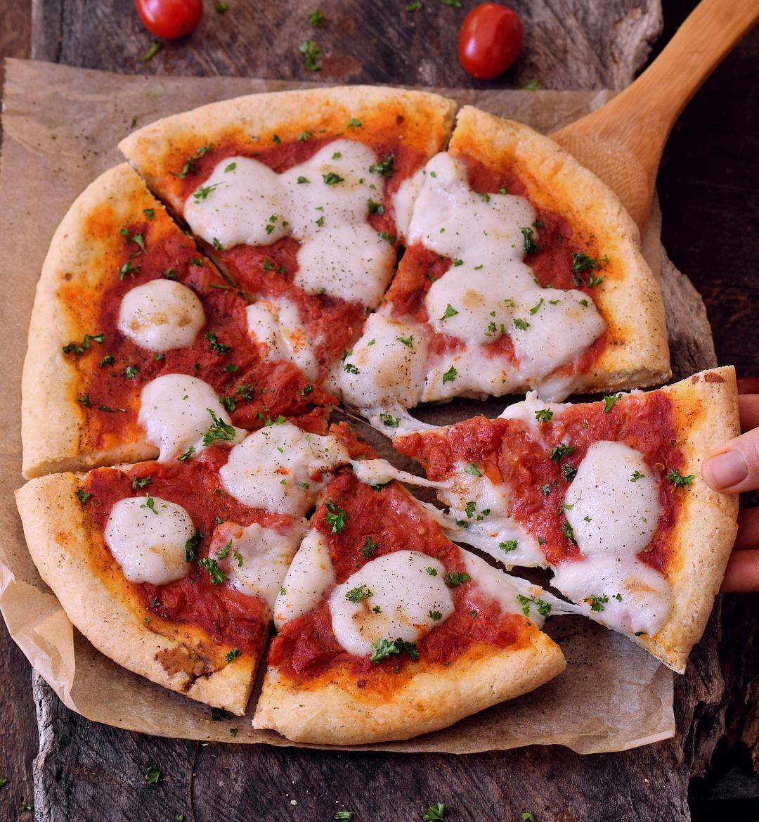 Dairy Free Pizza Dough  Best gluten free pizza crust