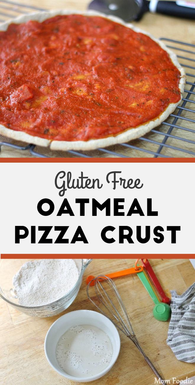 Dairy Free Pizza Dough  Oatmeal Pizza Gluten Free Oat Flour Pizza Crust Recipe