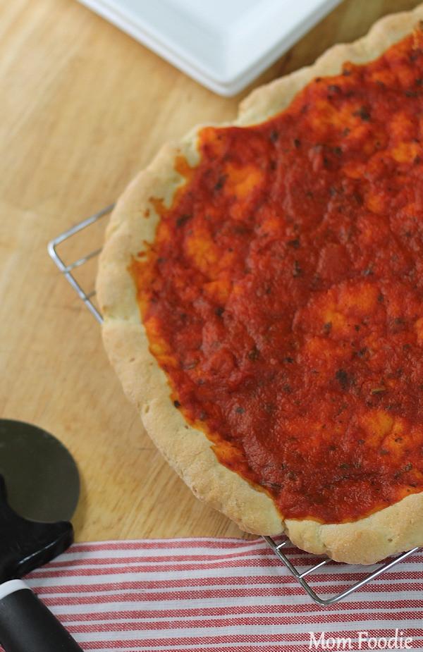 Dairy Free Pizza Dough  Gluten and Casein Free Pizza Recipe