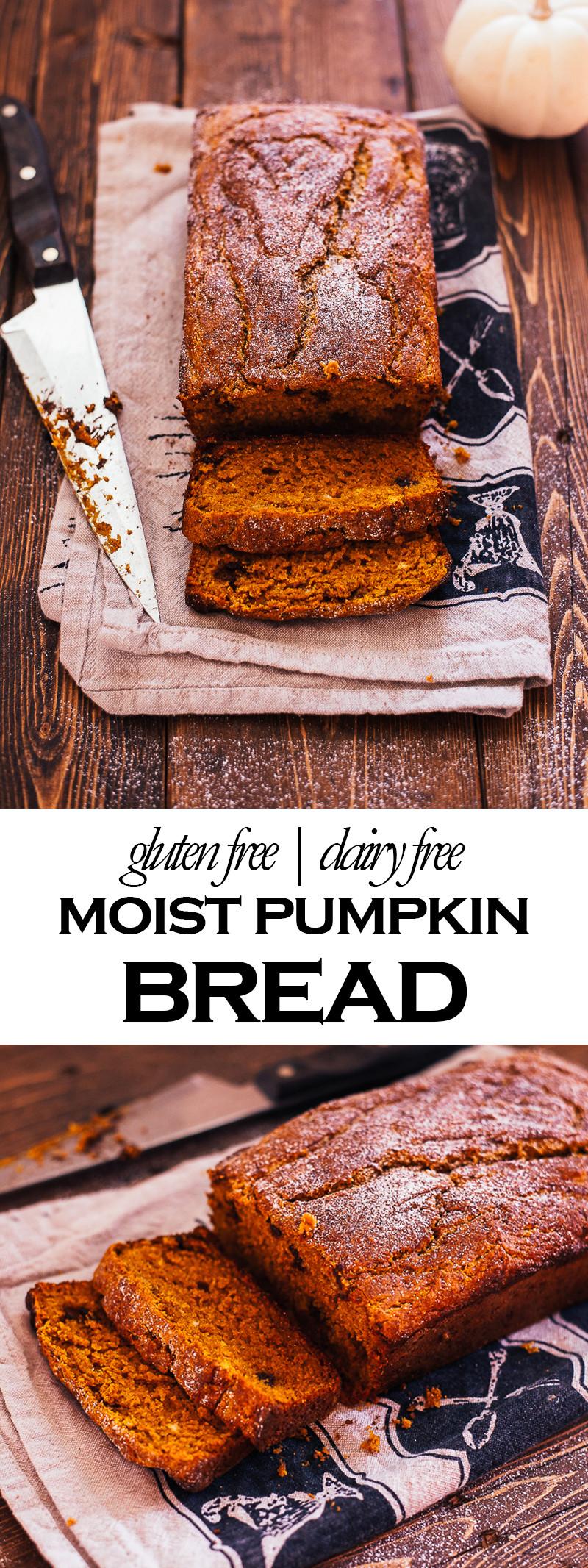 Dairy Free Pumpkin Bread  Gluten Free Pumpkin Bread I Am Gluten Free