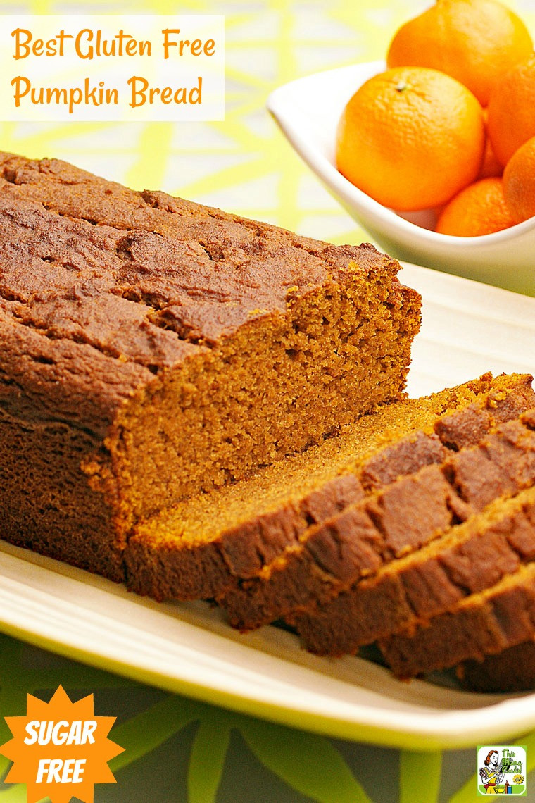 Dairy Free Pumpkin Bread  gluten free pumpkin bread recipes
