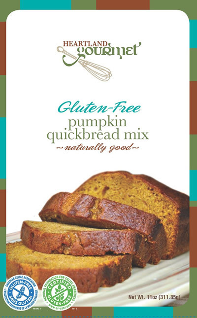 Dairy Free Pumpkin Bread  Gluten Free Pumpkin Bread Mix – Heartland Gourmet