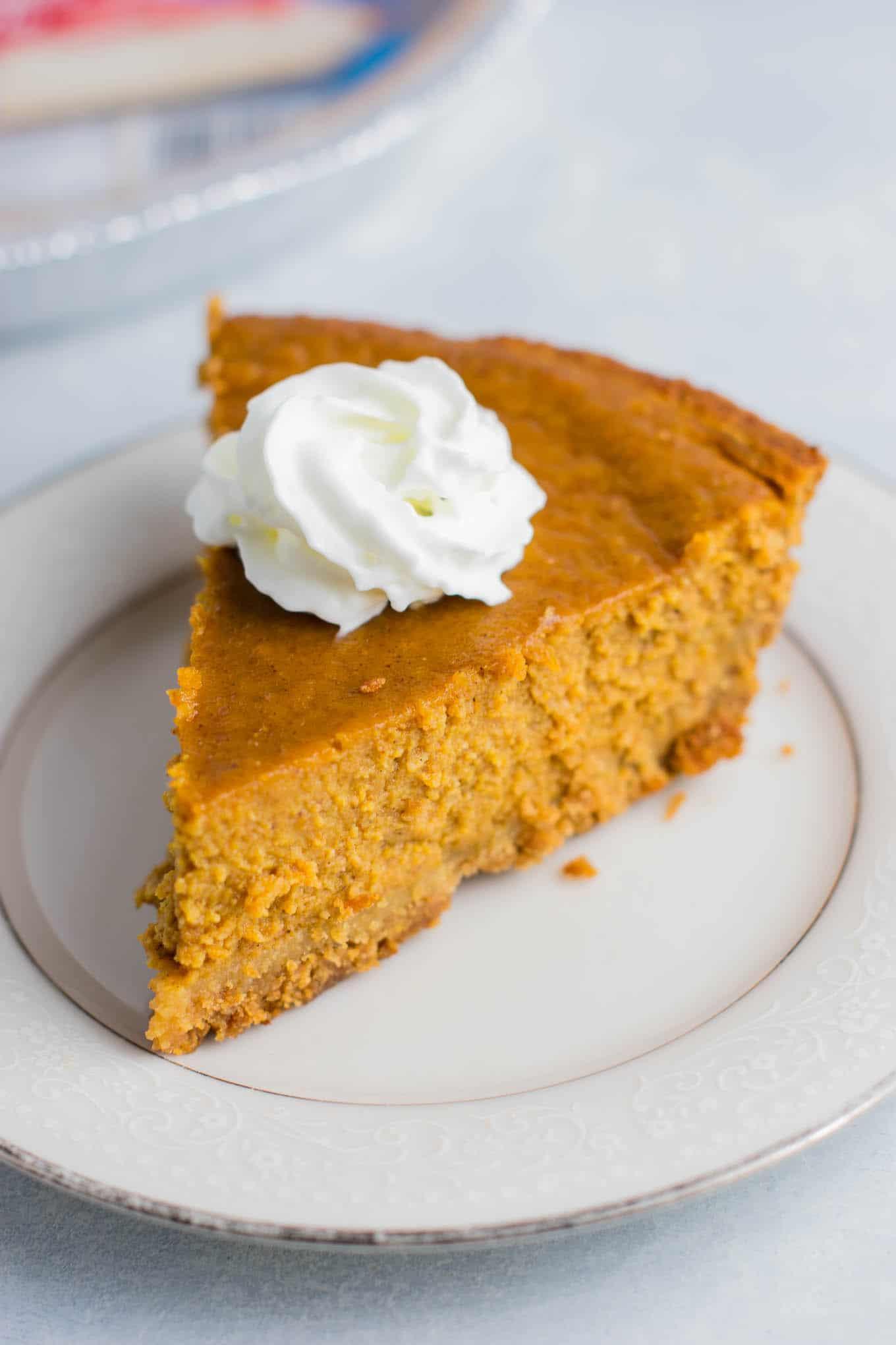 Dairy Free Pumpkin Pie Recipe  Gluten Free Pumpkin Pie Recipe with maple syrup