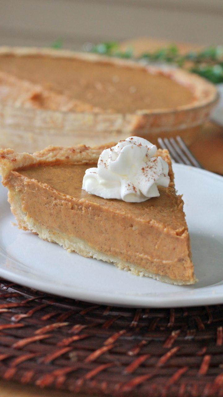 Dairy Free Pumpkin Pie Recipe  Gluten Free Pumpkin Pie Pie Crust