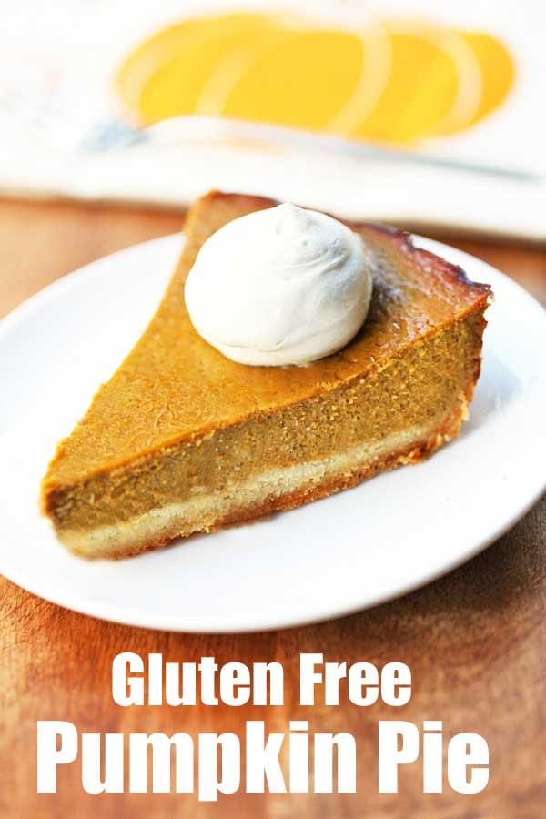 Dairy Free Pumpkin Pie Recipe  Gluten Free Pumpkin Pie Recipe