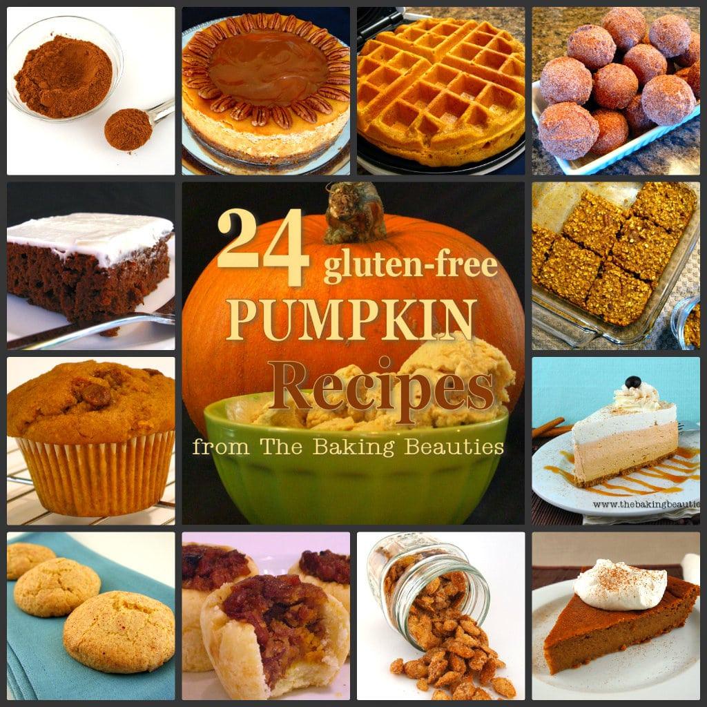 Dairy Free Pumpkin Recipes  24 Gluten Free Pumpkin Recipes from The Baking Beauties