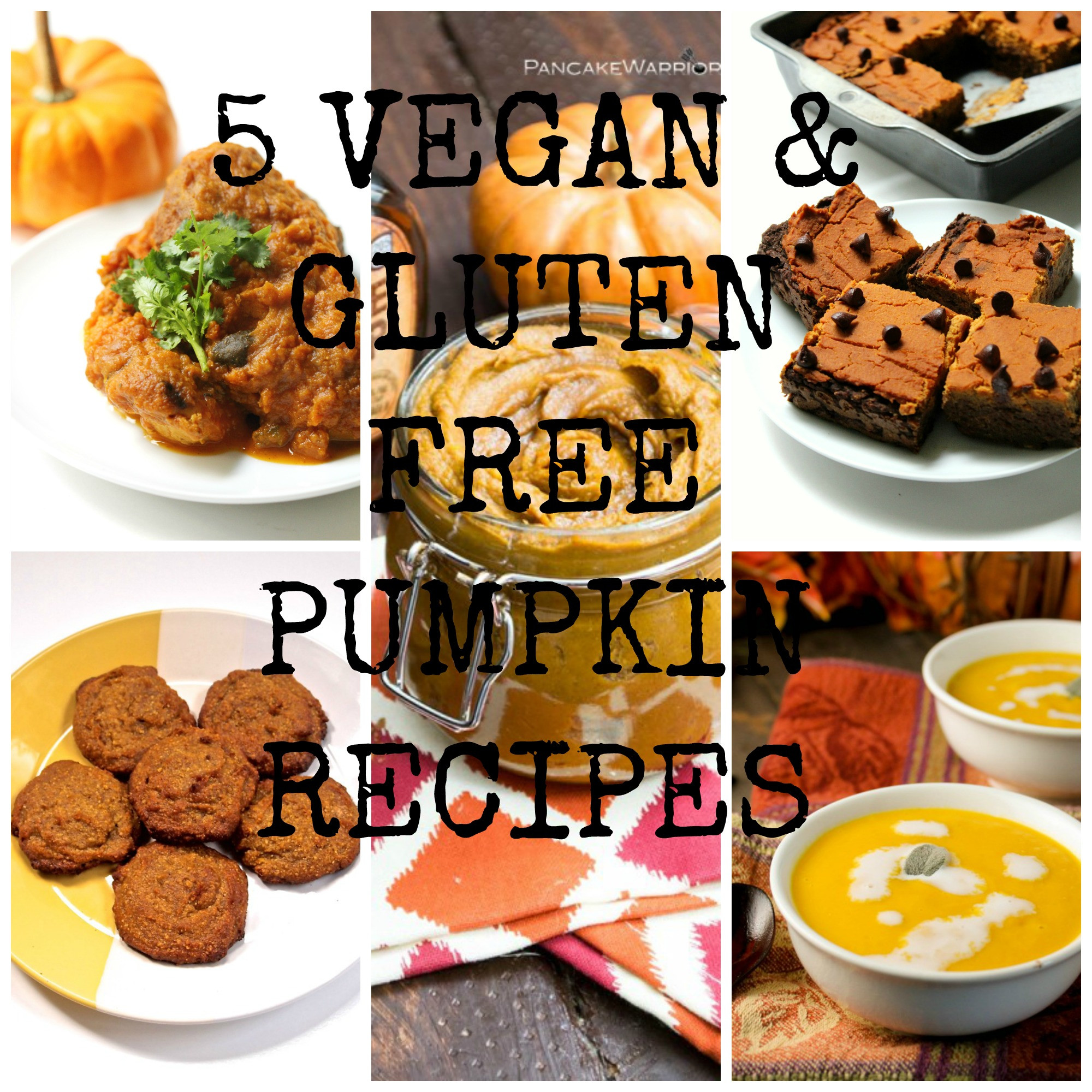 Dairy Free Pumpkin Recipes  5 vegan & gluten free pumpkin recipes Free From Farmhouse