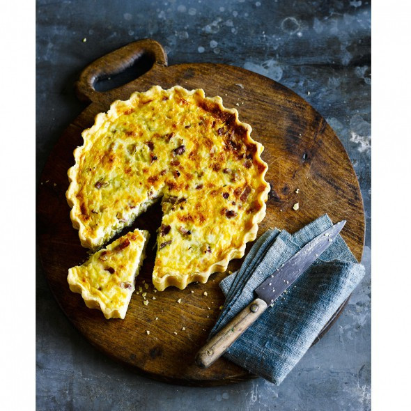 Dairy Free Quiche Recipes  Gluten free leek and bacon quiche Good Housekeeping