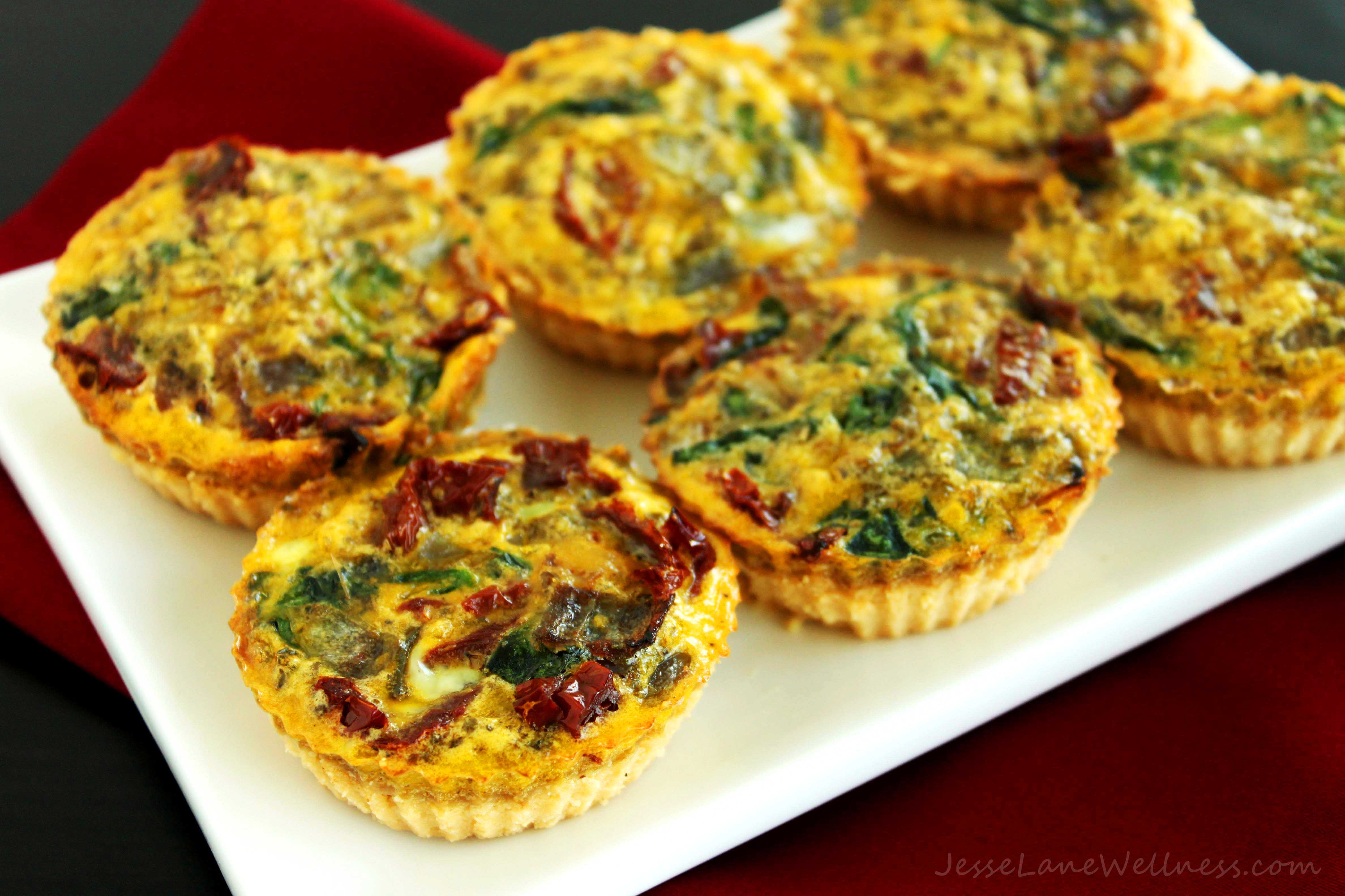 Dairy Free Quiche Recipes  Canada Day Recipe Roundup by Jesse Lane