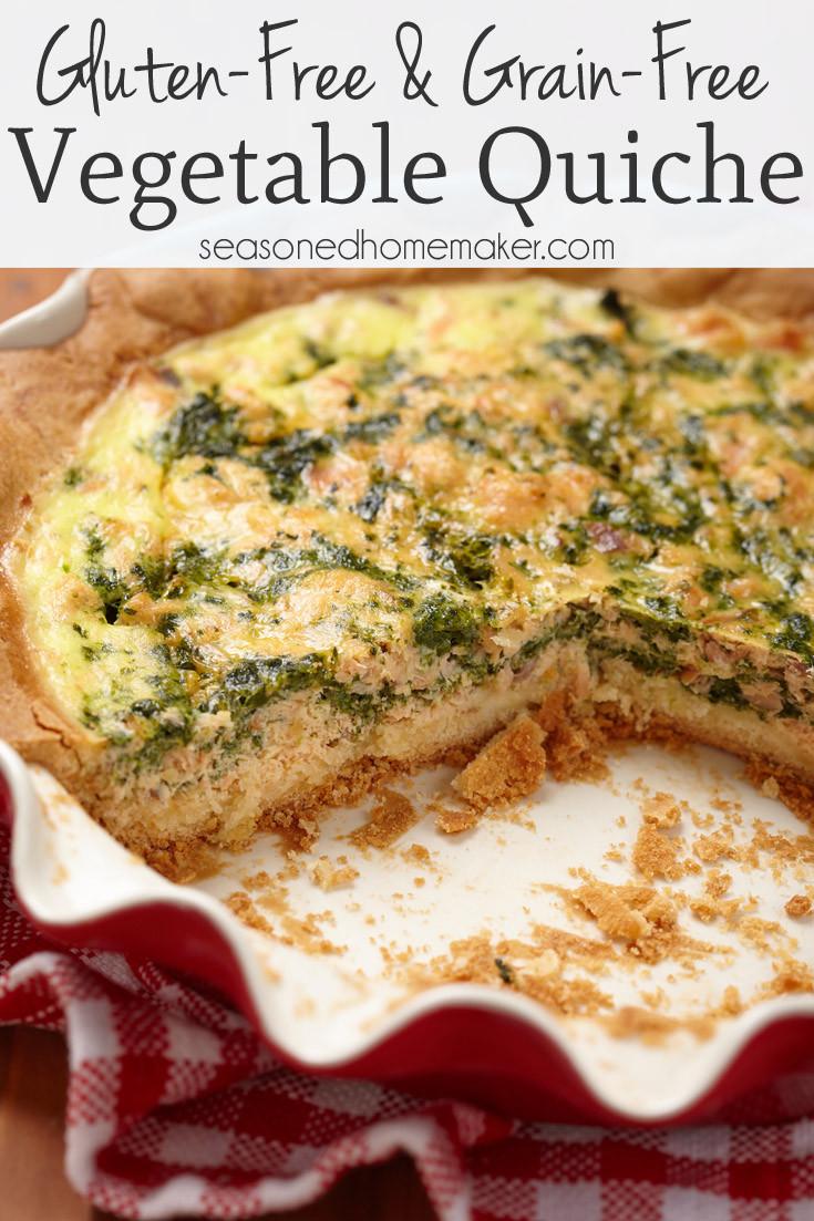 Dairy Free Quiche Recipes  Gluten Free & Grain Free Ve able Quiche Recipe The