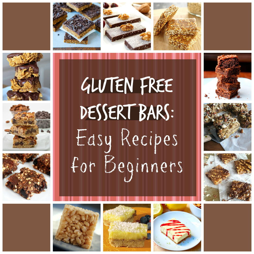 Dairy Free Recipes Easy  Gluten Free Dessert Bars 20 Easy Recipes for Beginners