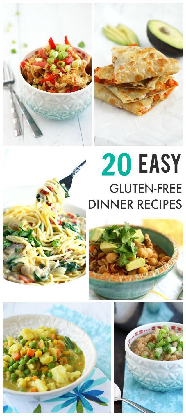 Dairy Free Recipes Easy  20 Easy Gluten Free Dairy Free Recipes Your Family Will