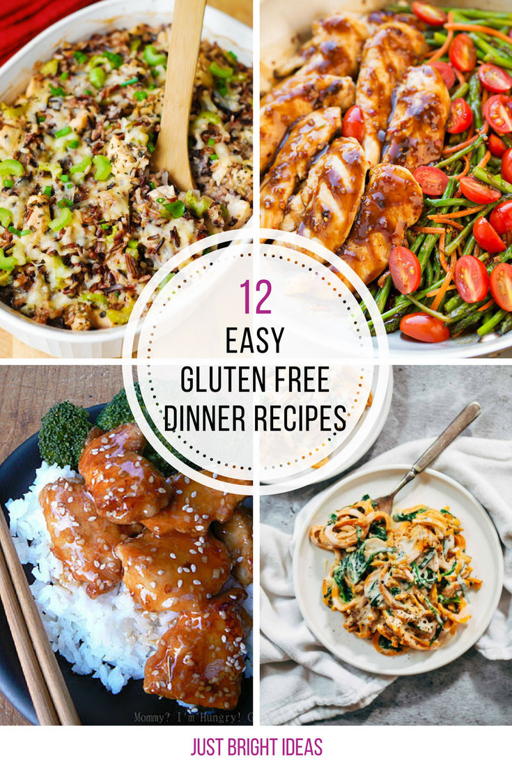 Dairy Free Recipes Easy  easy gluten free dinner recipes for family