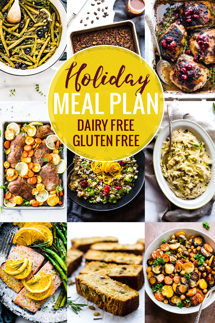 Dairy Free Recipes  Gluten Free Dairy Free Holiday Meal Plan