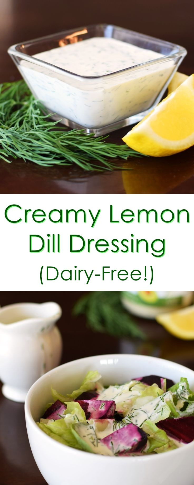 Dairy Free Salad Dressing Recipes  Creamy Dairy Free Dill Dressing Recipe