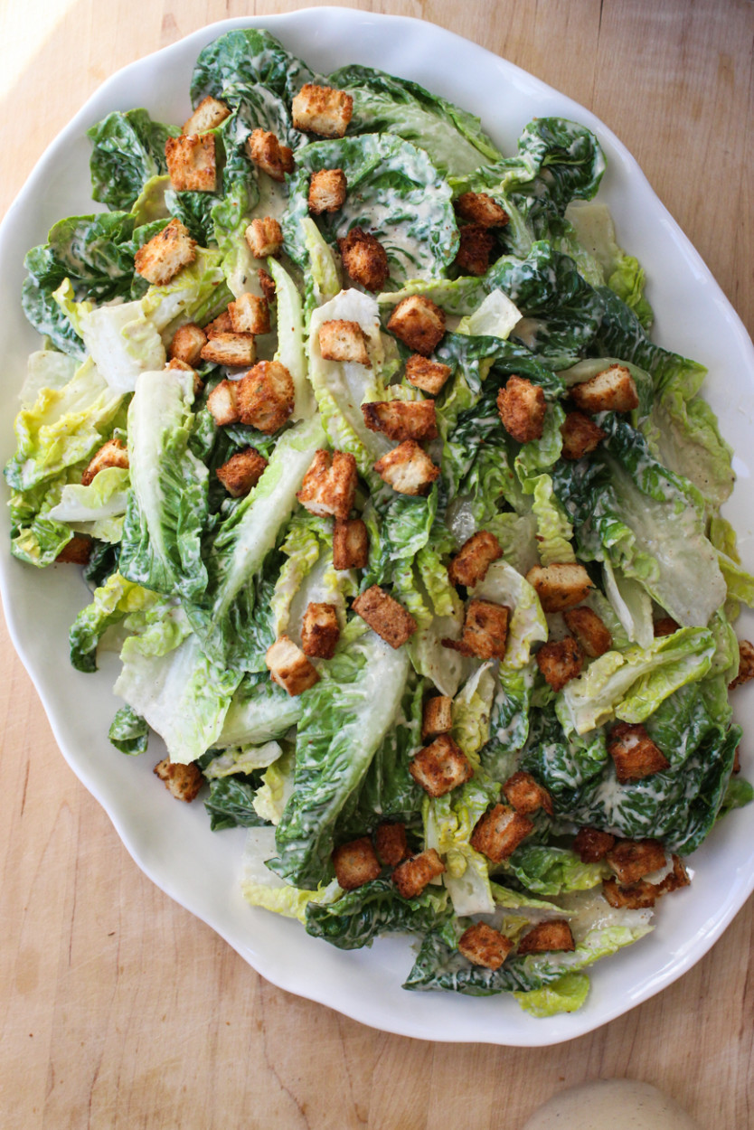 Dairy Free Salad Dressing Recipes  dairy free caesar dressing recipe