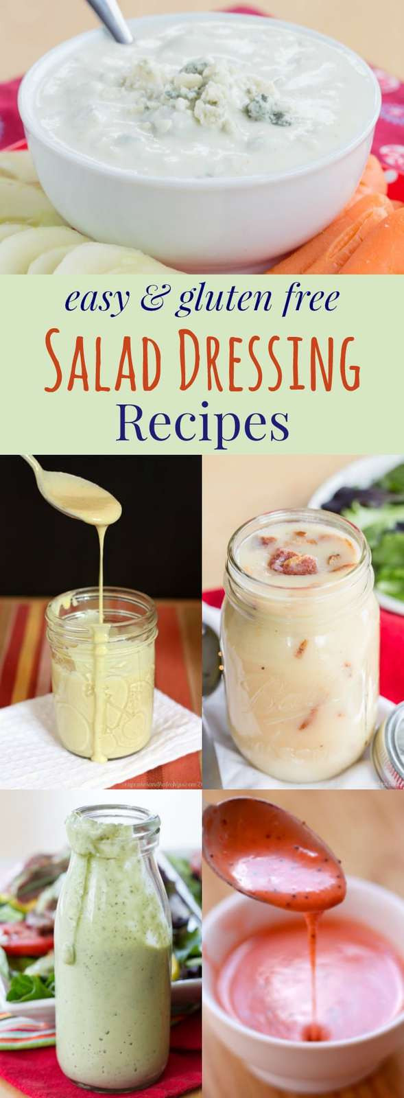 Dairy Free Salad Dressing Recipes  gluten free salad dressing recipes