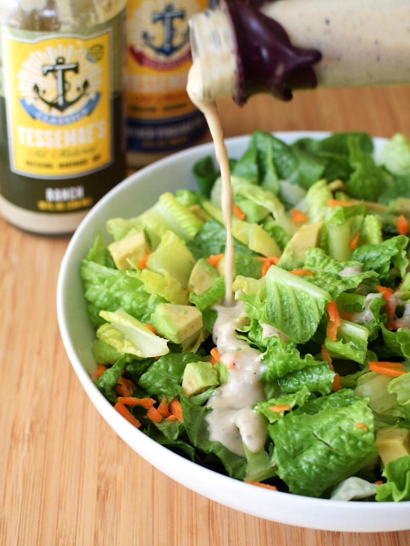 Dairy Free Salad Dressings  Tessemae s Classics Salad Dressings Review