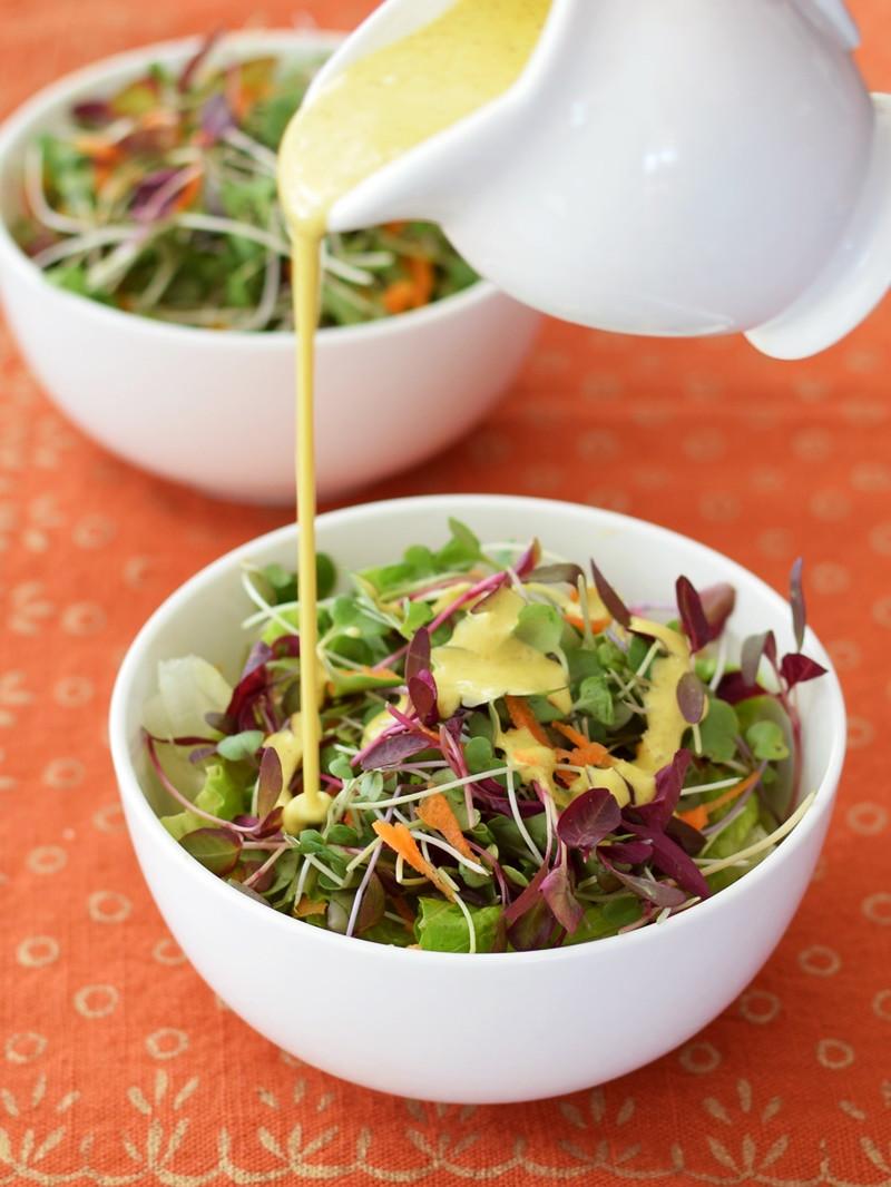 Dairy Free Salad Dressings  Creamy Anti Inflammatory Salad Dressing or Sauce Recipe