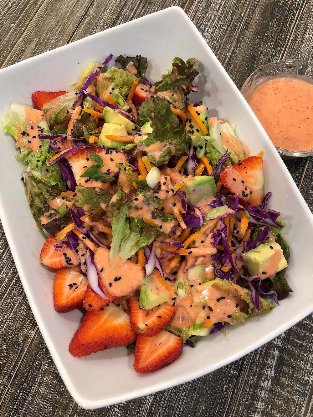 Dairy Free Salad Dressings  Best Gluten Free Strawberry Salad Dressing