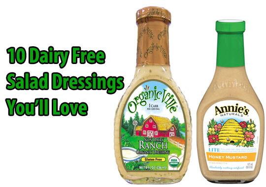 Dairy Free Salad Dressings  gluten free salad dressing recipes