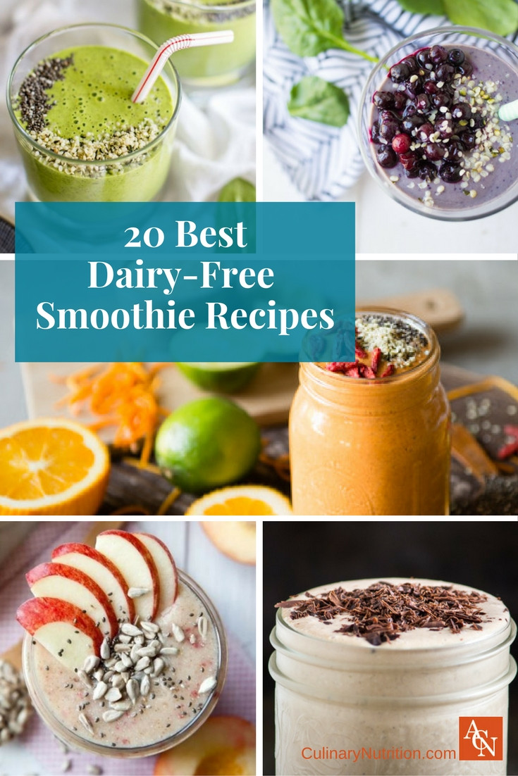 Dairy Free Smoothie Recipes  20 Best Dairy Free Smoothie Recipes