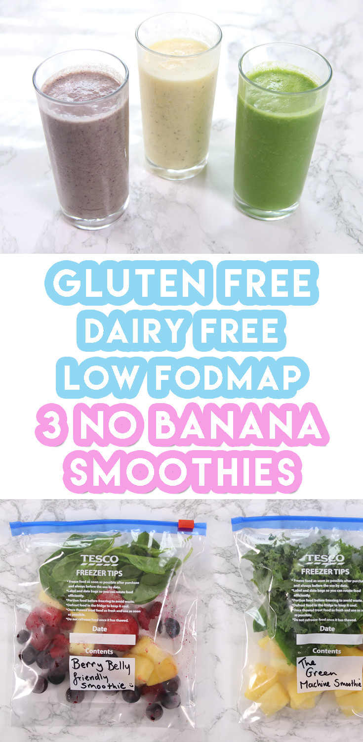 Dairy Free Smoothie Recipes  3 Low FODMAP Smoothie Recipes For Weekly Meal Prep no