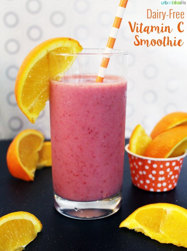 Dairy Free Smoothies  Drink Bliss Dairy Free Vitamin C Smoothies