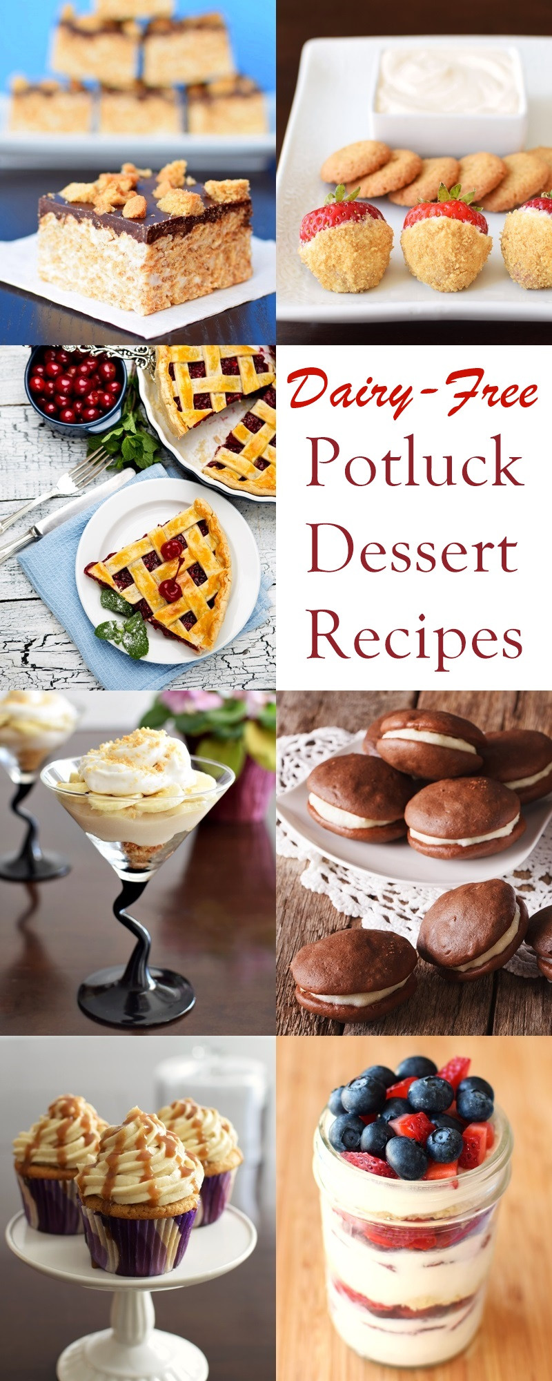Dairy Free Soy Free Desserts  22 Dairy Free Potluck Dessert Recipes Everyone Will Love
