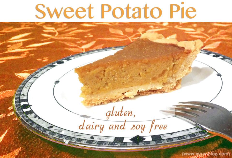 Dairy Free Sweet Potato Pie  Organic Sweet Potato Pie dairy free gluten free soy