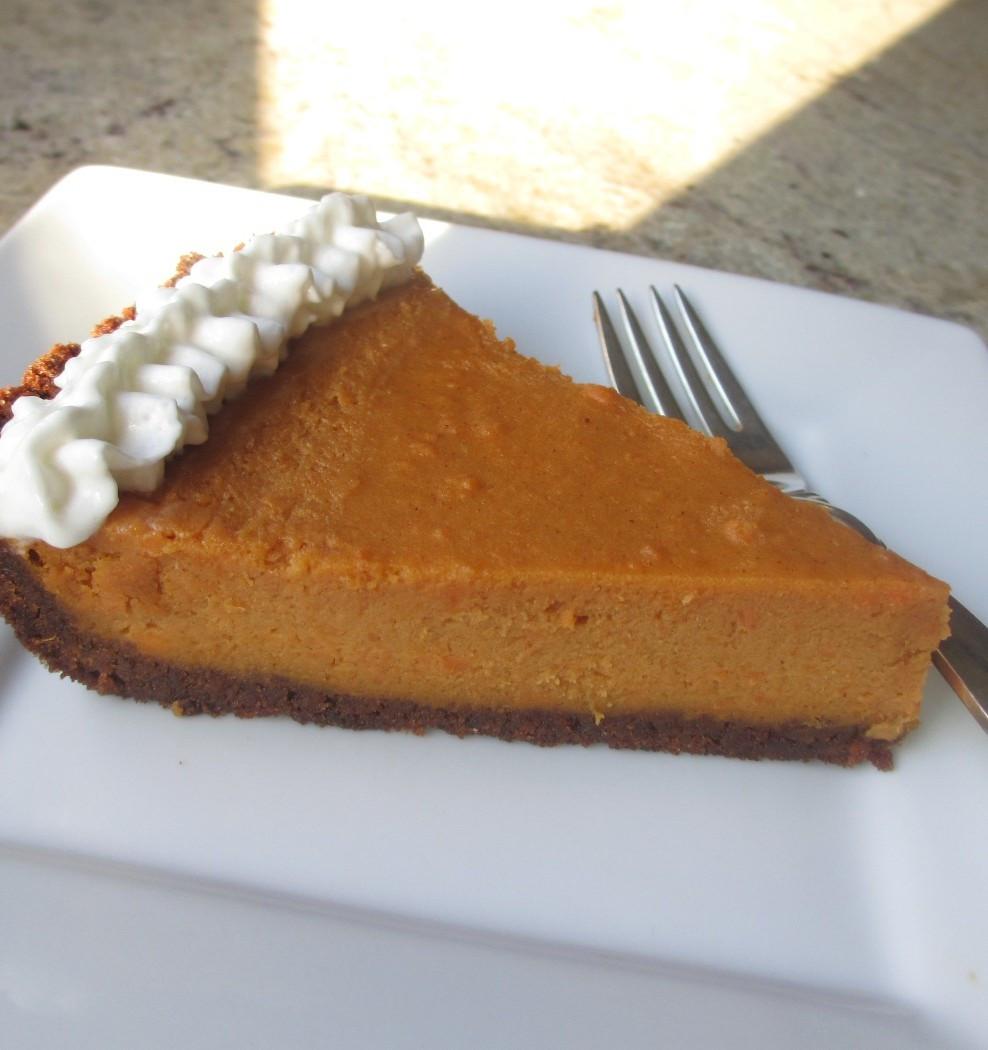 Dairy Free Sweet Potato Pie  Gluten Free Sweet Potato Pie Celiac Friendly Thanksgiving