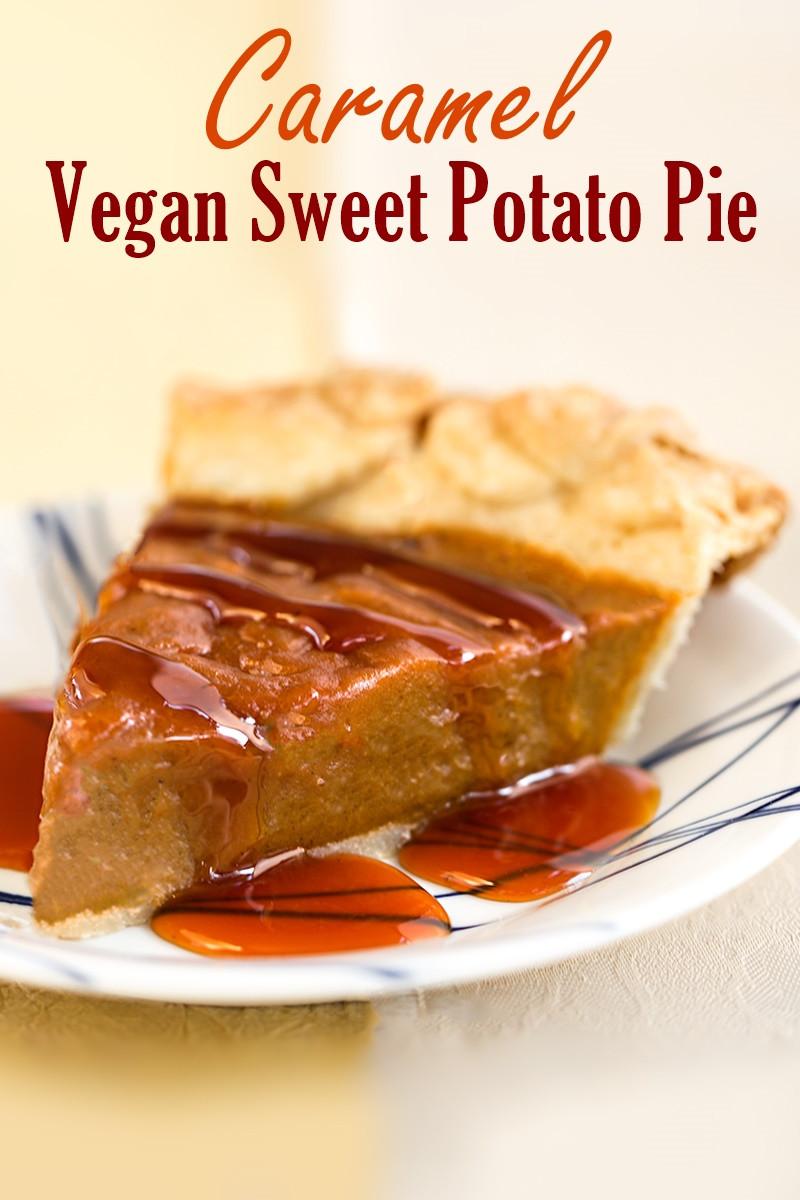 Dairy Free Sweet Potato Pie  Vegan Caramel Sweet Potato Pie Recipe Dairy free Egg free