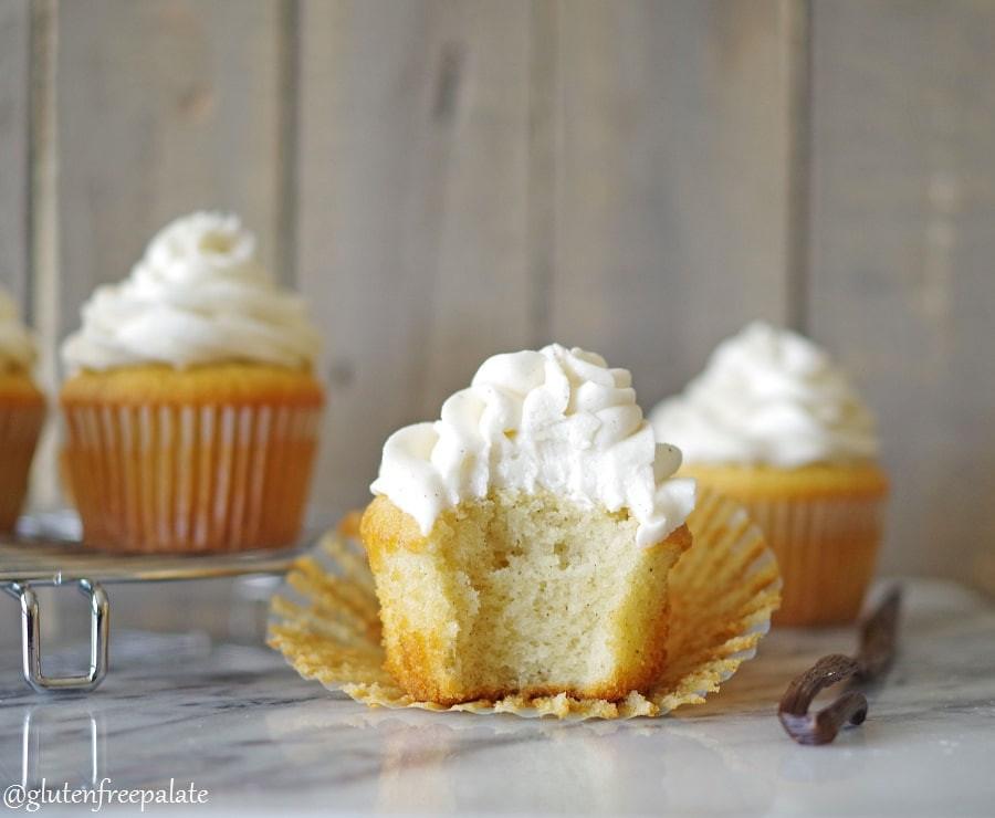 Dairy Free Vanilla Cupcakes  Gluten Free Vanilla Bean Cupcakes