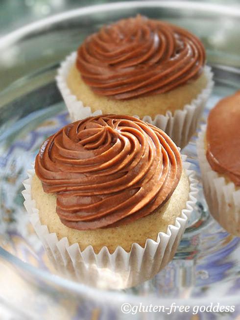 Dairy Free Vanilla Cupcakes  Gluten Free Goddess Recipes Gluten Free Vanilla Cupcakes