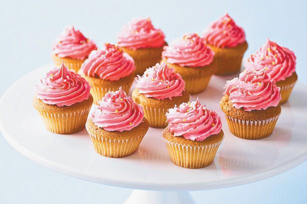 Dairy Free Vanilla Cupcakes  Dairy free Strawberry And Vanilla Cupcakes Recipe Taste
