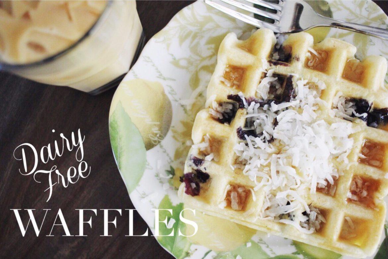 Dairy Free Waffles  Dairy Free Waffles Newman s Nest