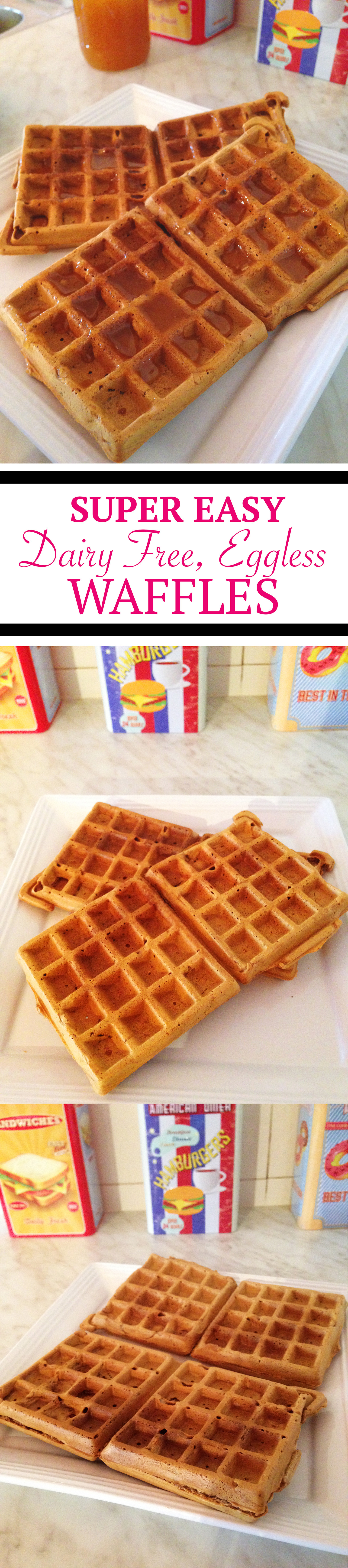 Dairy Free Waffles  Simple Dairy Free Eggless Oatmeal Waffles Recipe Better