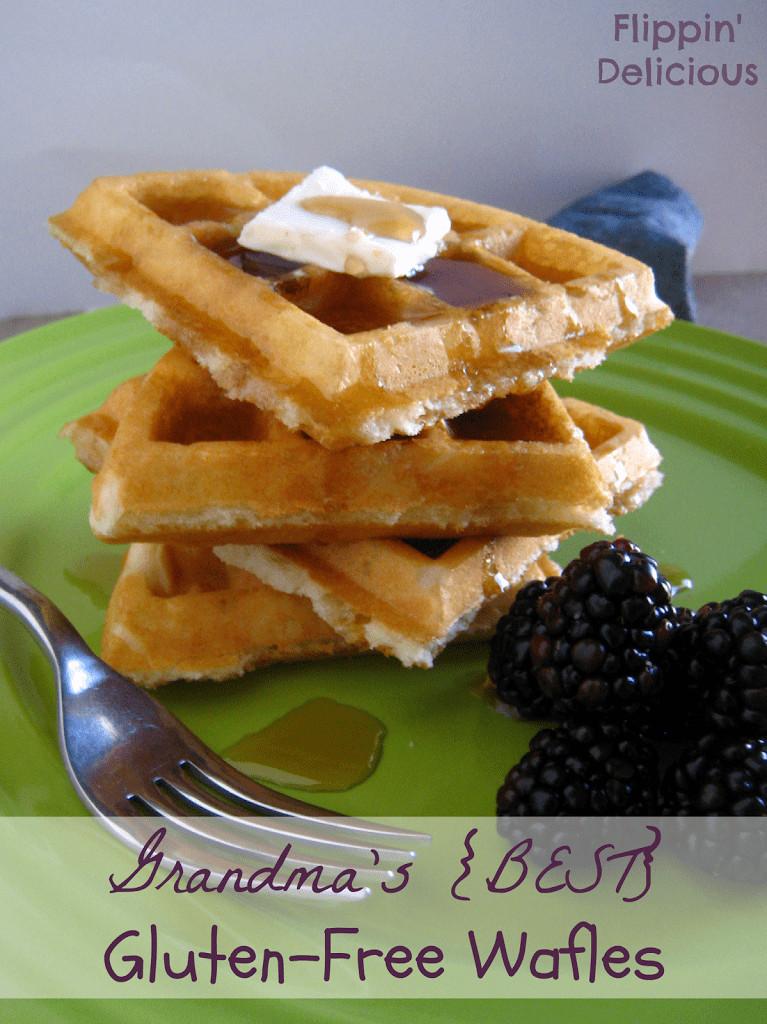 Dairy Free Waffles  Grandma s Best Gluten Free Waffles