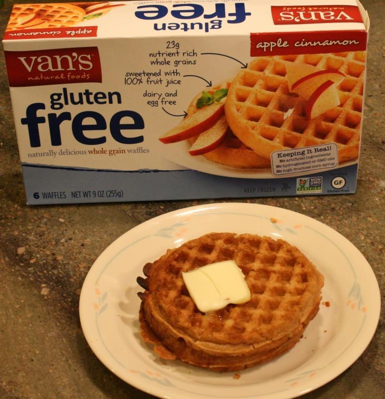 Dairy Free Waffles  van s gluten free waffles