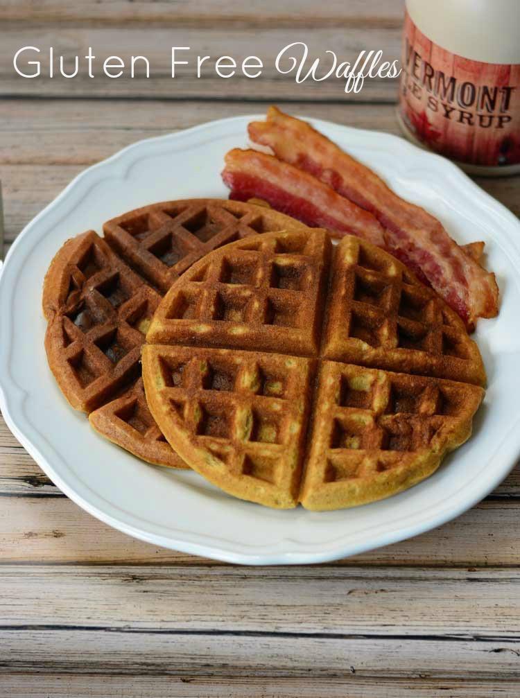 Dairy Free Waffles  Gingerbread Waffles Gluten Free Recipe — Dishmaps