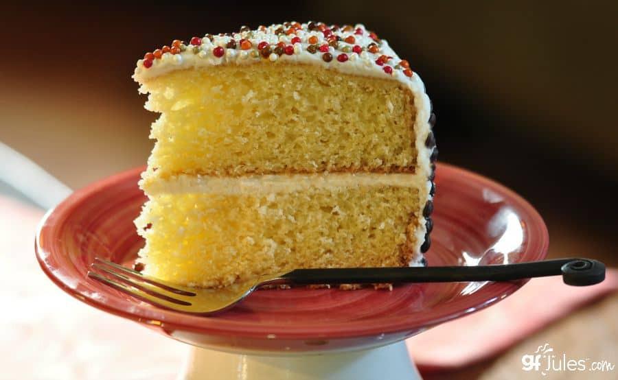 Dairy Free Yellow Cake Recipe  Best Gluten Free Cake Recipe gfJules