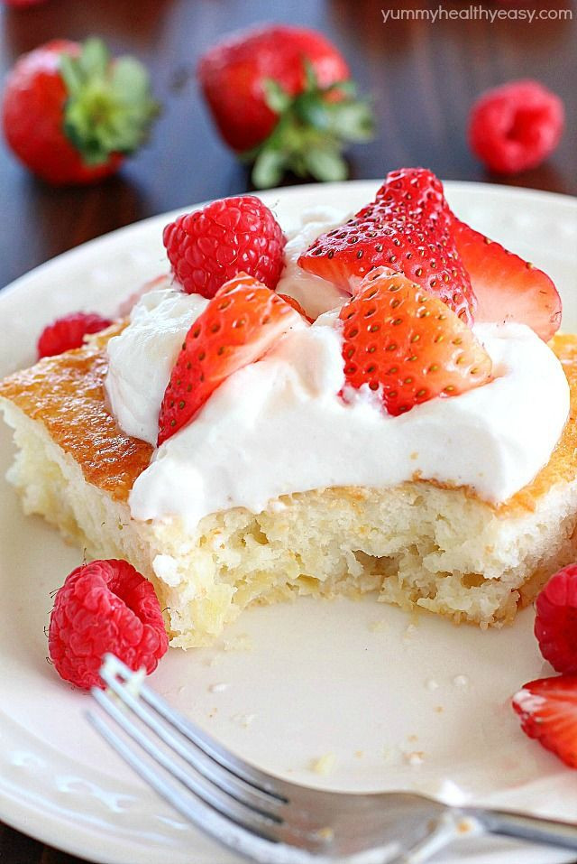 Delicious Low Calorie Desserts  355 best EAT Cake Doctor Recipes images on Pinterest